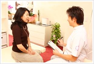 品川区の腰痛専門「ハートリィ整体院」カウンセリング01