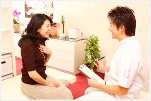 品川区腰痛専門のハートリィ整体院腰痛 カウンセリング